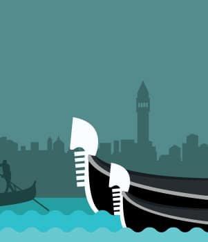 1.Go on a gondola ride