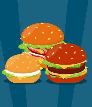 16.Check out the latest Secret Burger event