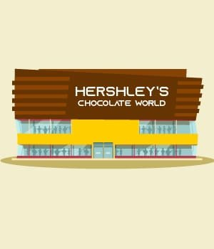 24.Visit Hershley's Chocolate World