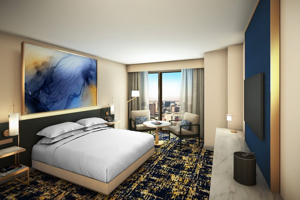 Las Vegas Hilton at Resorts World - Deluxe King Room
