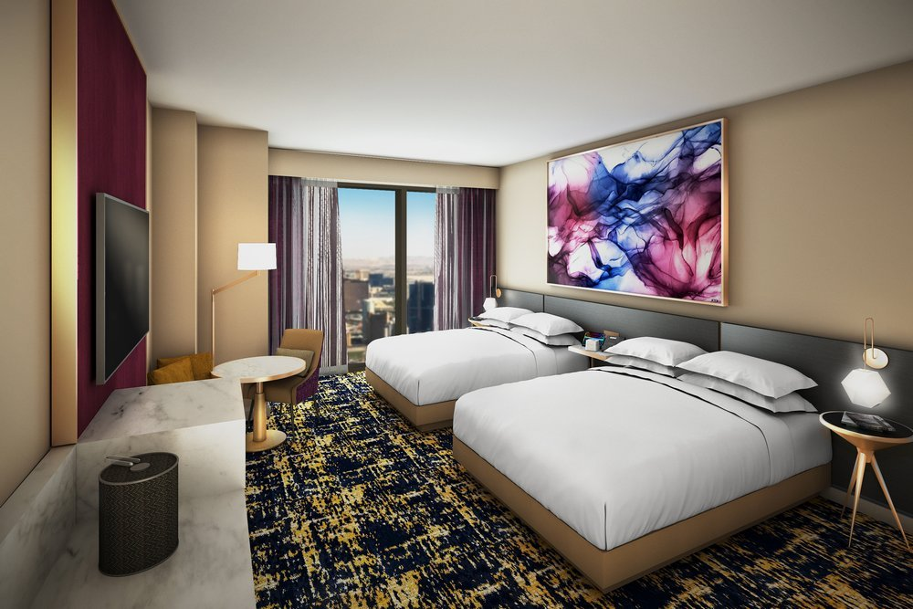 Las Vegas Hilton at Resorts World - Deluxe Queen Room