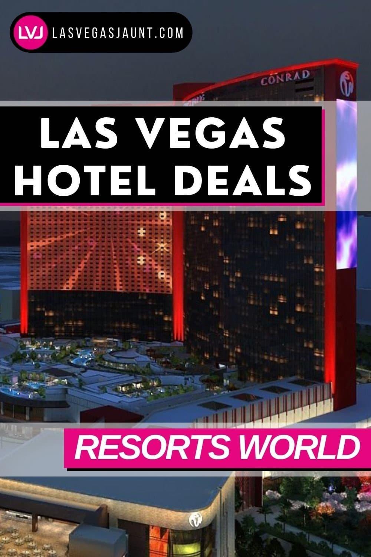 Resorts World Las Vegas Deals Promo Codes Discounts