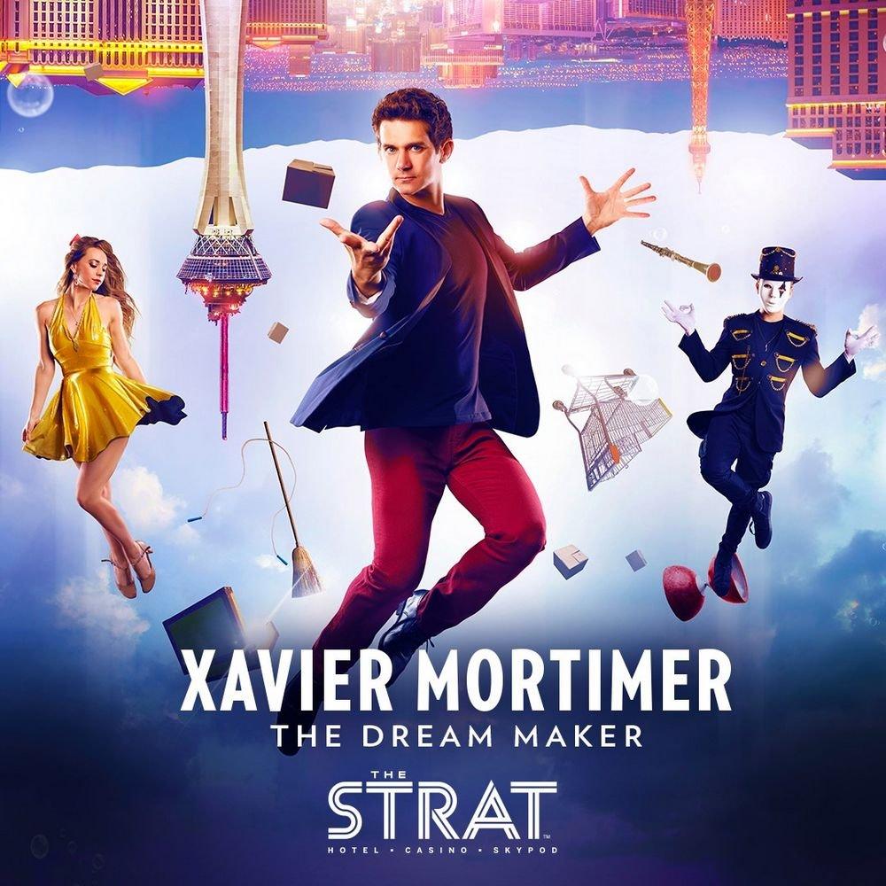 Xavier Mortimer The Dream Maker Las Vegas