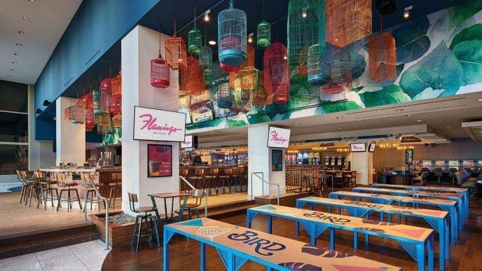 Bird Bar Flamingo Las Vegas