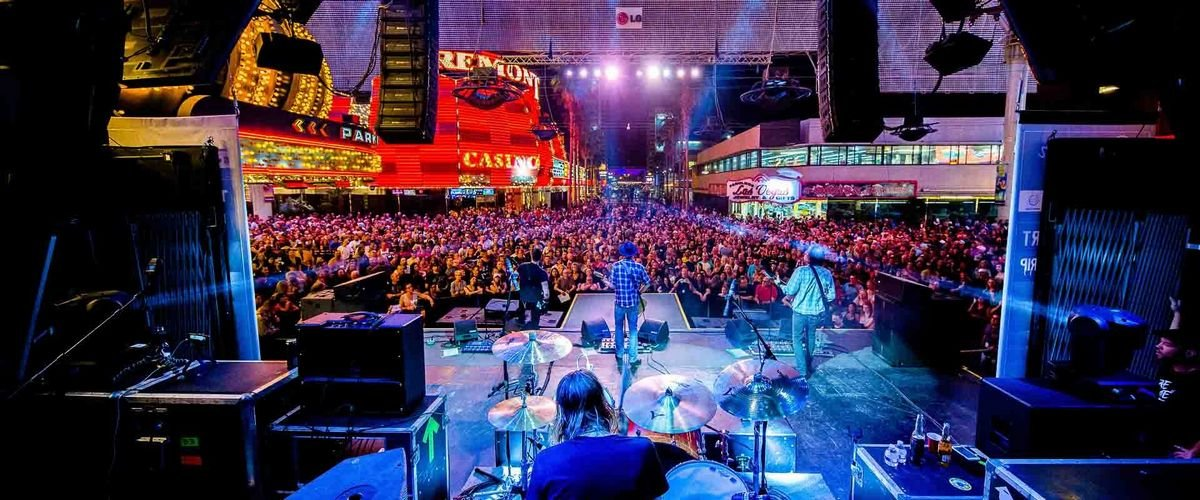 Fremont Street Experience Las Vegas Concert